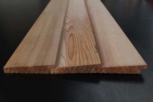 Bardage bois cèdre massif profil Bevel Siding