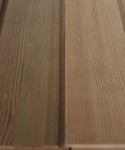 Bardage bois clin red cedar