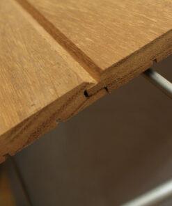 Bardage bois exterieur en Iroko